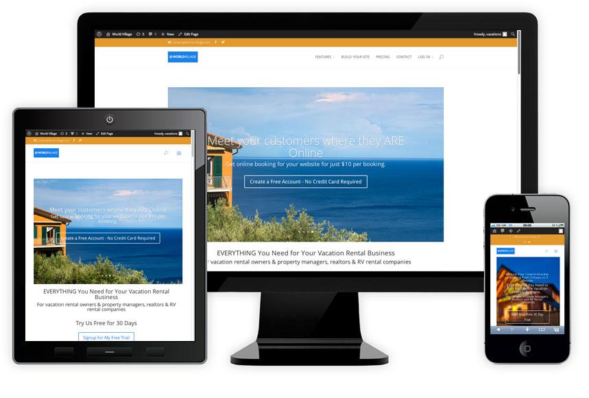 Custom Web Site Design - Responsive