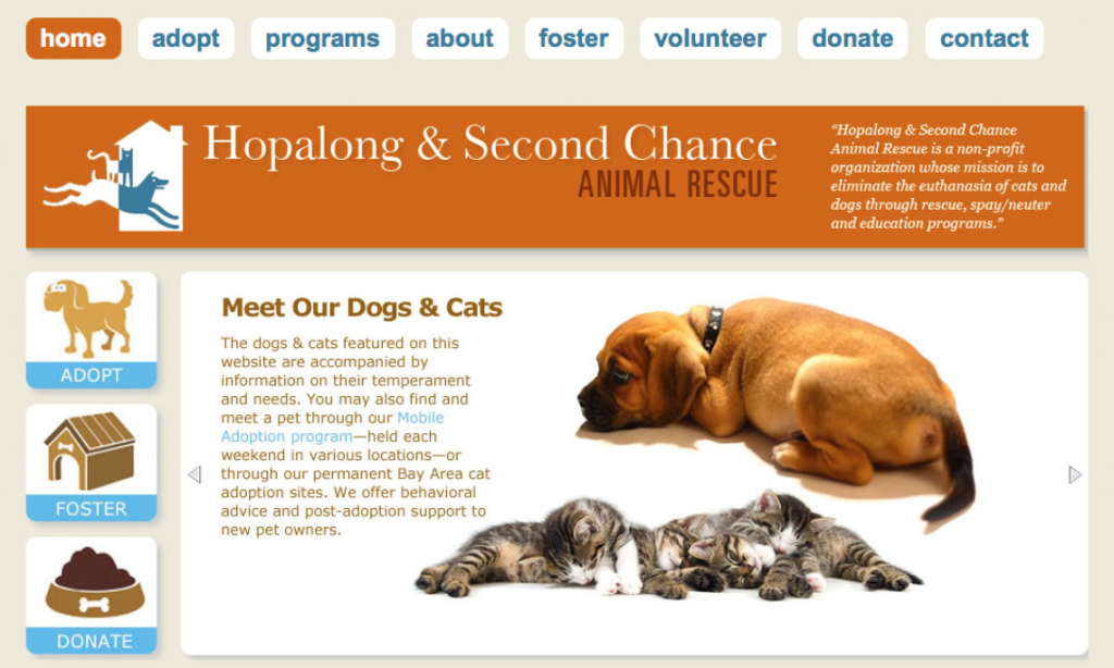 Hopalong.org – Custom WordPress Website