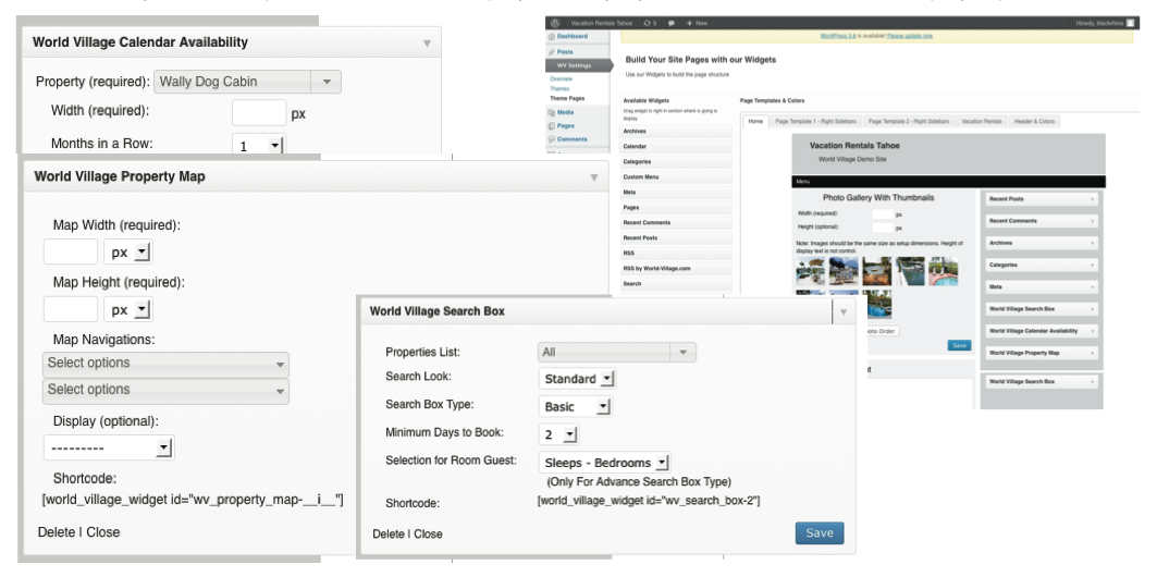 Design Concepts for Interactive Widgets