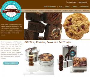 Miss Lilly's Trading Company – E-Commerce Website