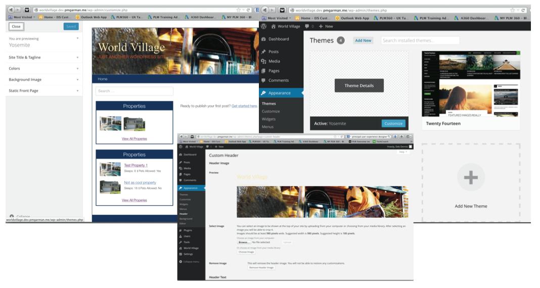 Plugin Page Setup