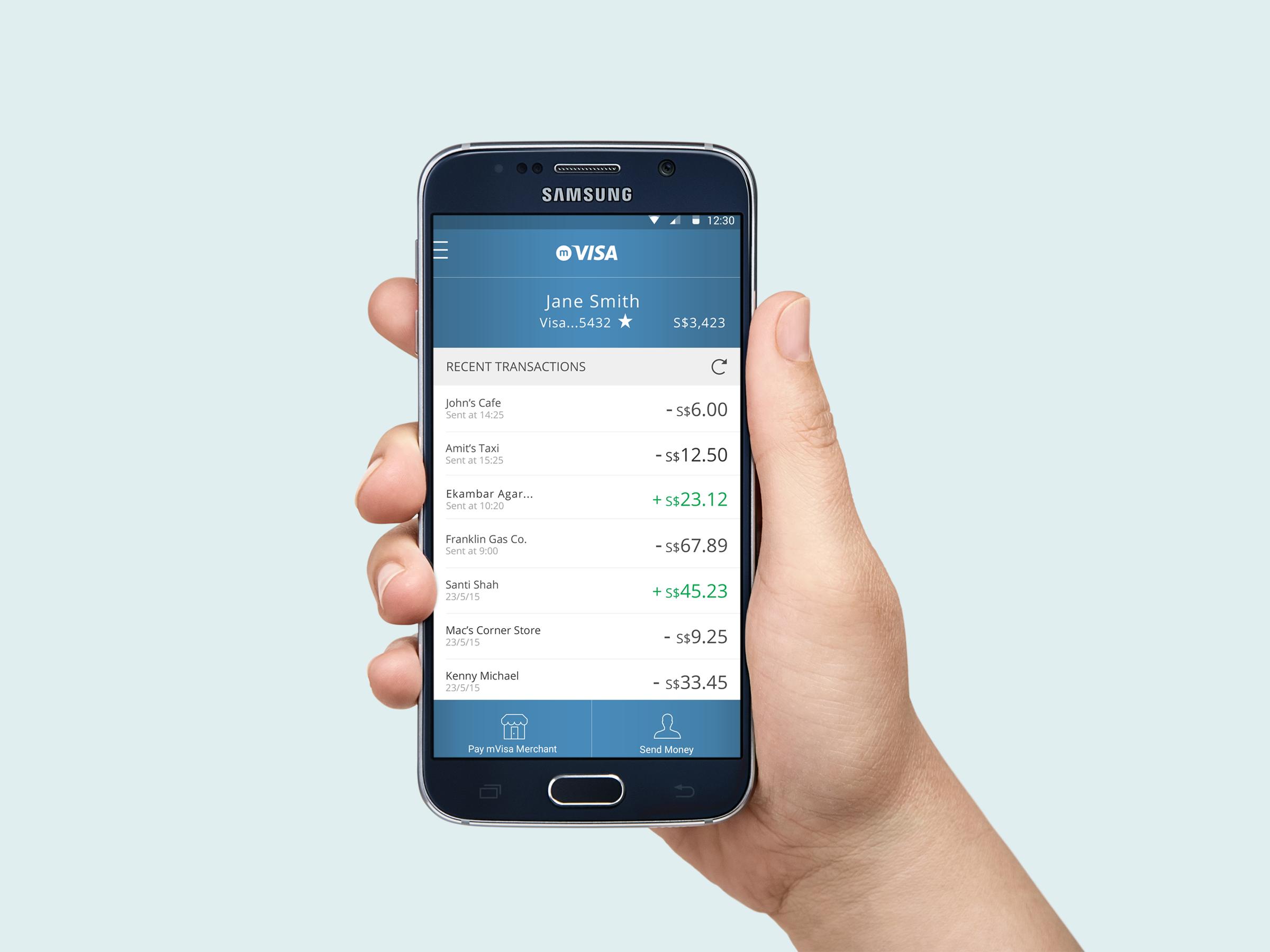 CASE STUDY: mVisa Mobile App for Push Payments | Black Rhino