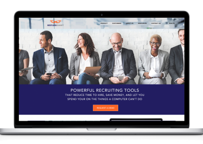 Home Page ReDesign – Recruiting Company